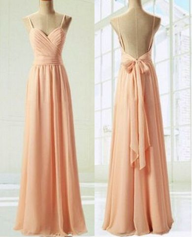 Charming Prom Dress,Sweetheart Prom Dress,A-Line Prom Dress,Pink Prom Dress,Chiffon Prom Dress, With Straps Long Modest Gowns Dresses,Evening Dress,Custom Made,2018 New Fashion