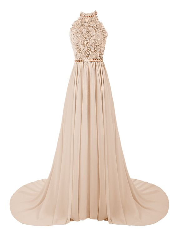 39bfcdf79831f Halter Prom Dress,Beaded Prom Dress,Long Prom Dress,Slip Prom Dress ...