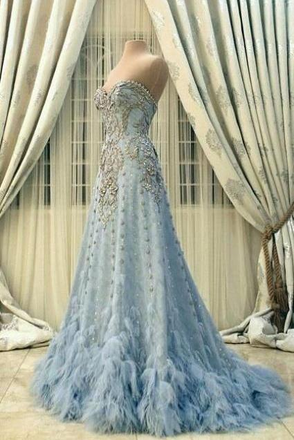 New Arrival Prom Dress,Modest Prom Dress,Prom Dresses,Party Dresses,Flower wedding dress,blue wedding dress,blue wedding dress,wedding dress,modest Evening Dress,Custom Made,Party Gown