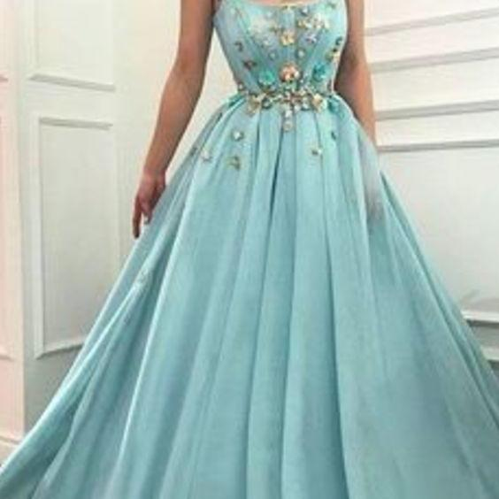 Fashion prom dress Green tulle evening dress long prom dresses Sexy Evening Dresses,Party Dresses,Evening Gowns the new peom dress
